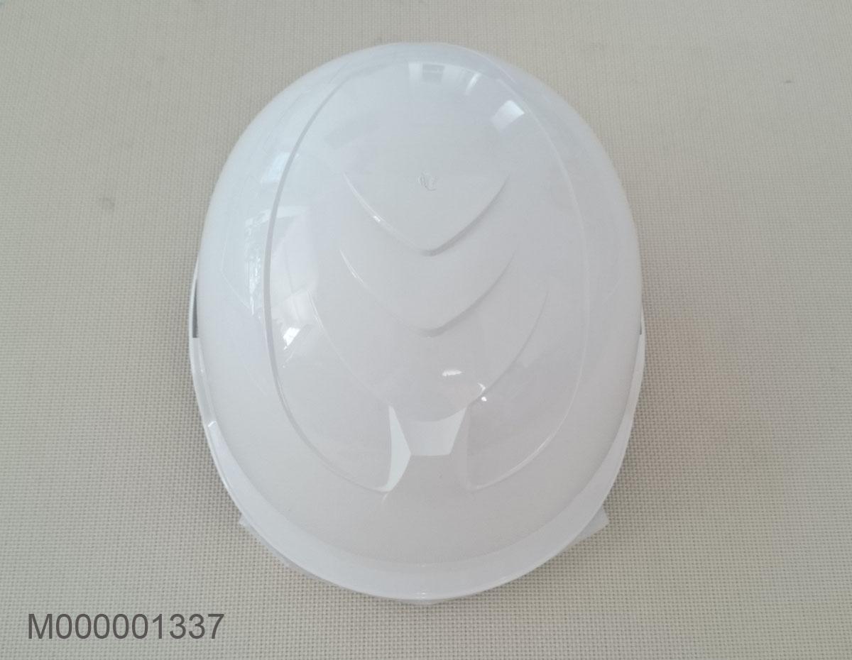 Mũ bảo hộ kiểu mũ bảo hiểm xe máy Hàn Quốc KJH-G02 màu trắng