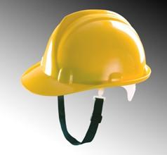 Mũ bảo hộ thùy dương không núm màu Vàng MS-10