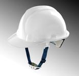 Mũ bảo hộ Thùy Dương có núm MS-307, màu trắng