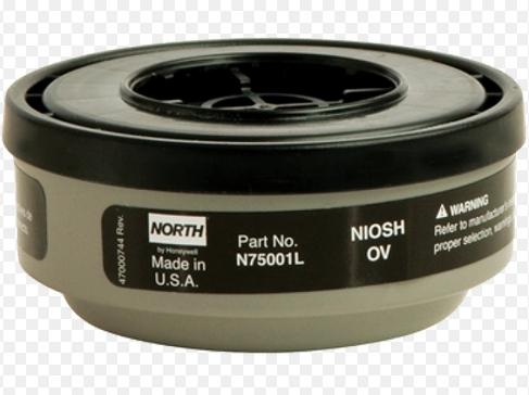 Phin lọc hơi hữu cơ NORTH SERIES 75001L honeywell