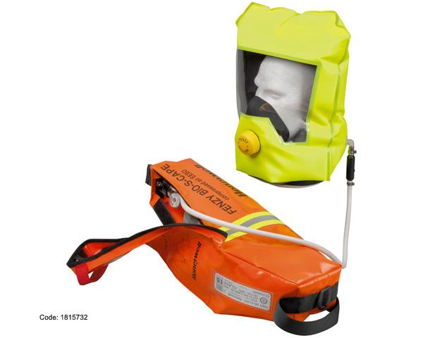 Thiết bị hỗ trợ thở Thoát hiểm khẩn cấp BIO-S-CAPE dung tích bình 3L 200 Bar