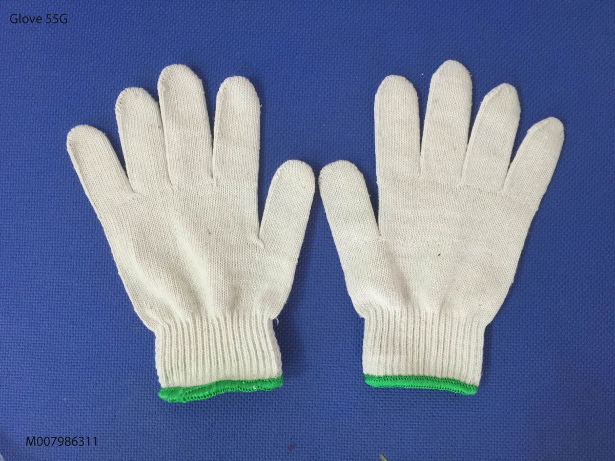 Găng tay sợi 55g ( Kim 10)