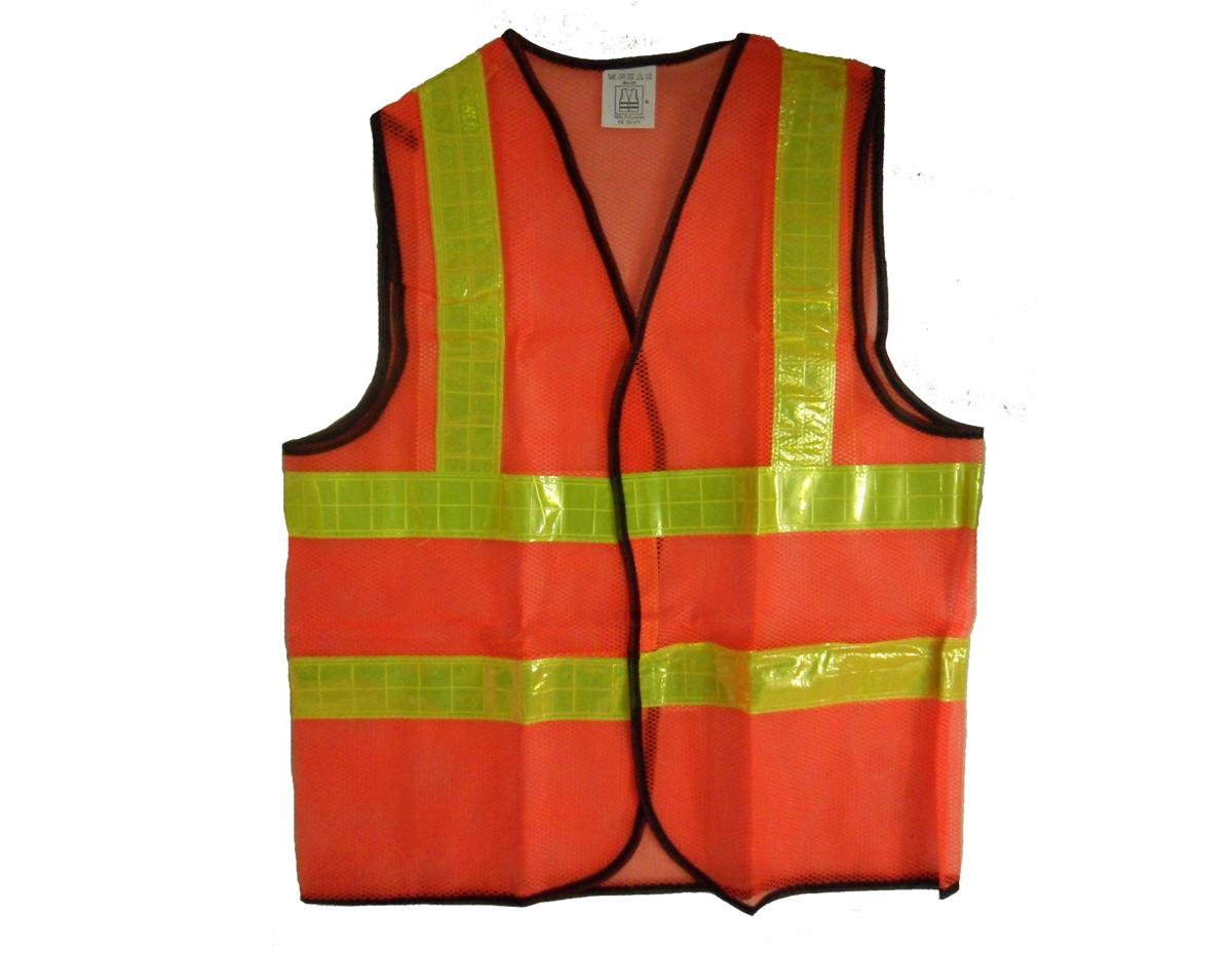 Áo lưới màu cam phản quang vàng chanh APQ 04