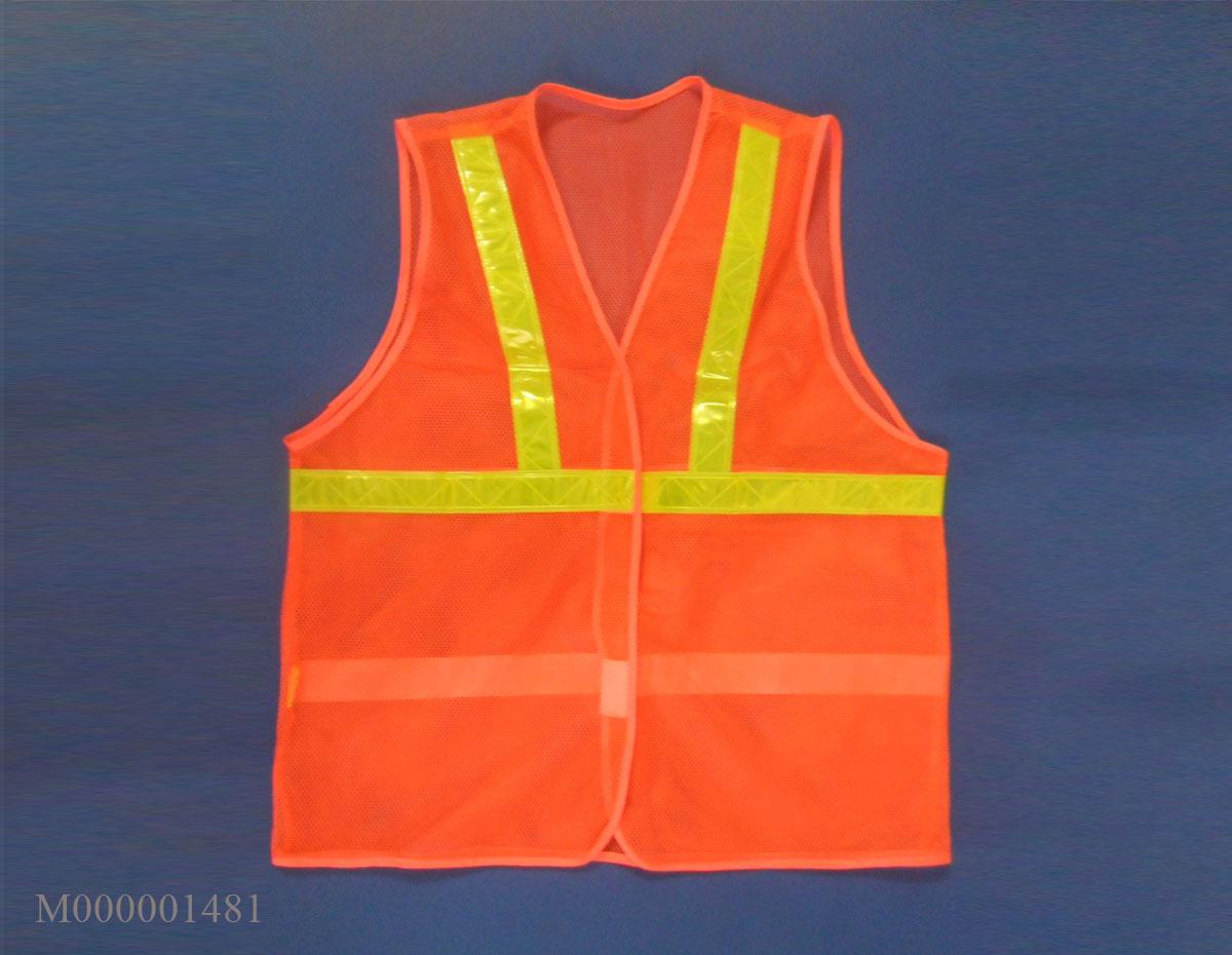 Áo lưới màu cam phản quang vàng APQ-18
