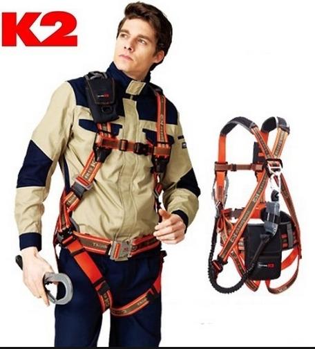 Dây an toàn Toàn thân K2 KB-9202 2 móc nhôm